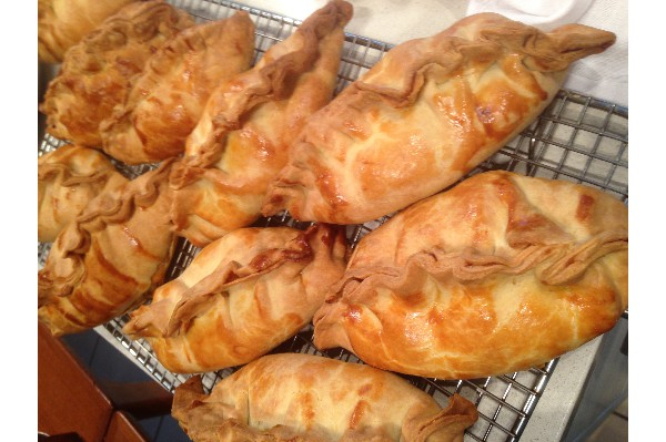 luscious home-made pasties