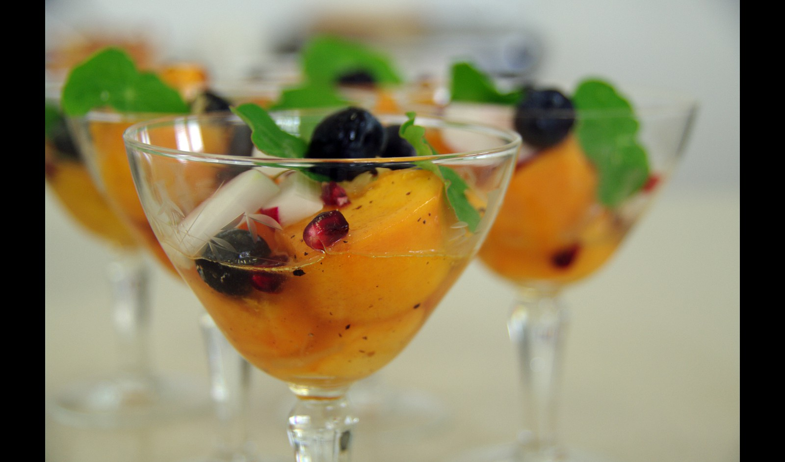 Try a little Persimmon Cocktail for a smashing starter!